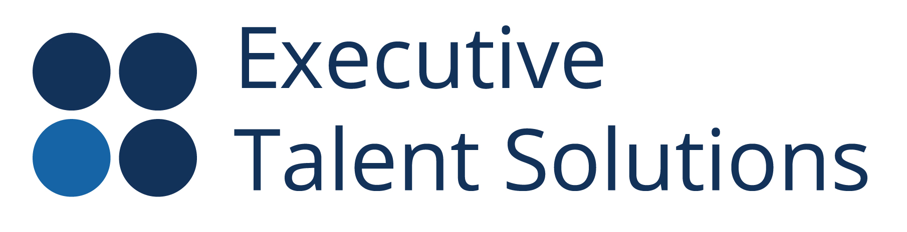 Executive talent solution logo