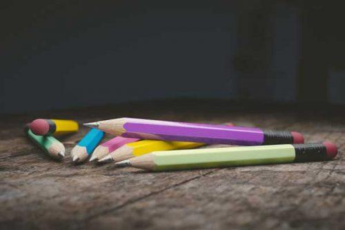 seven pencils